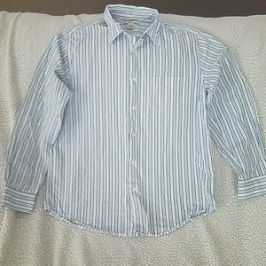 Men's Long-Sleeved Button Down